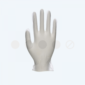 Unicare Clear Vinyl Exam Gloves (EN455) – Cases of 10 Boxes, 100 Gloves per Box