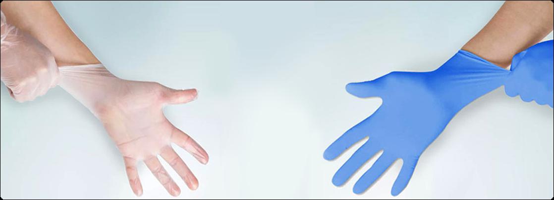 Gants en Nitrile ou en Vinyle : Choisir les bons gants pour le travail